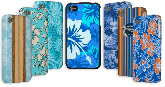 Hawaiian iPhone Cases by Drive Industries.